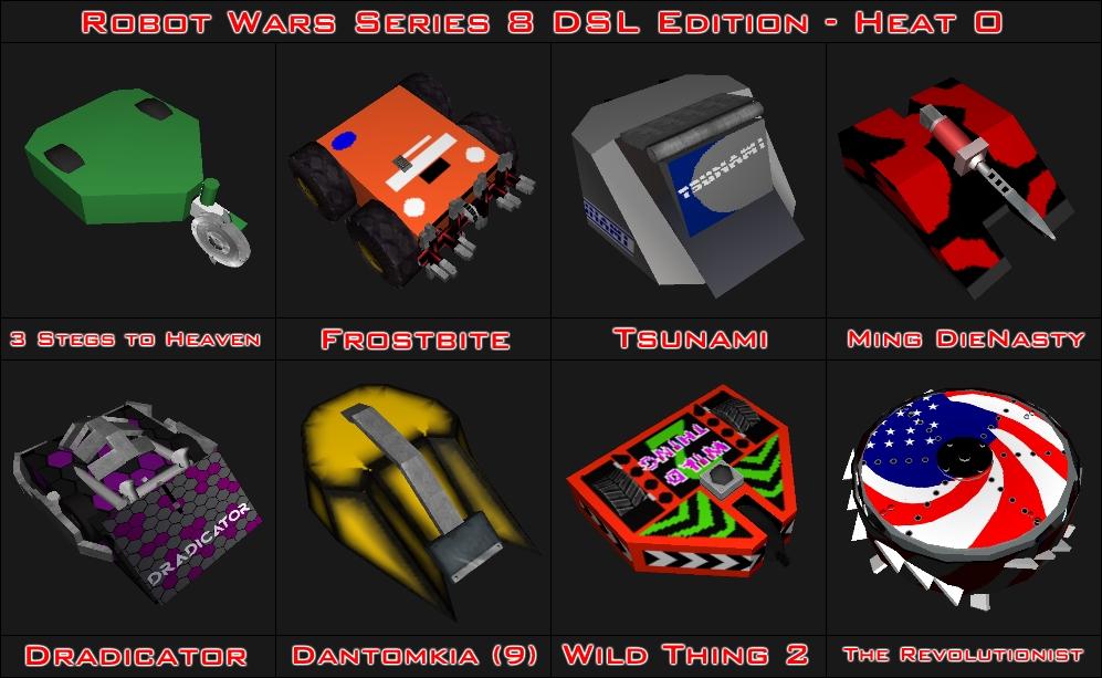 robot wars series 8 dsl edition videos. Black Bedroom Furniture Sets. Home Design Ideas