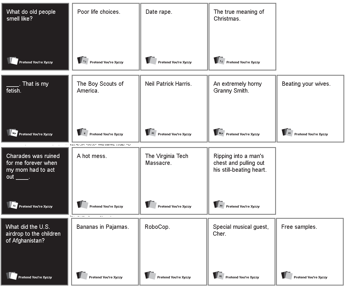 Cards Against Humanity Pdf Deutsch