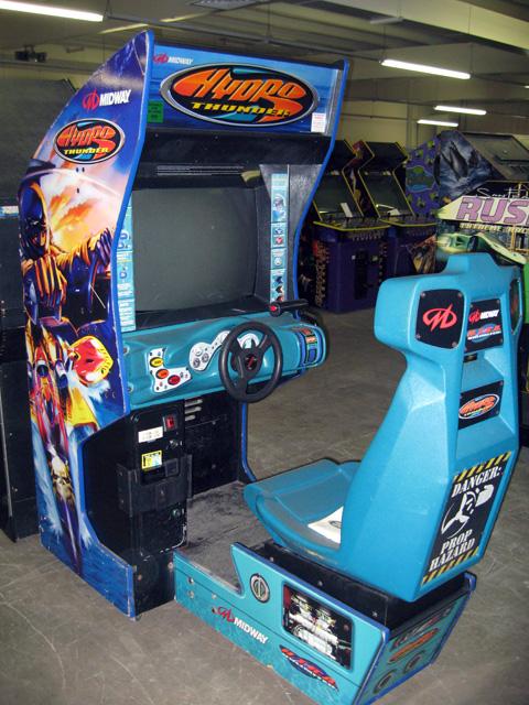 borne arcade hydro thunder