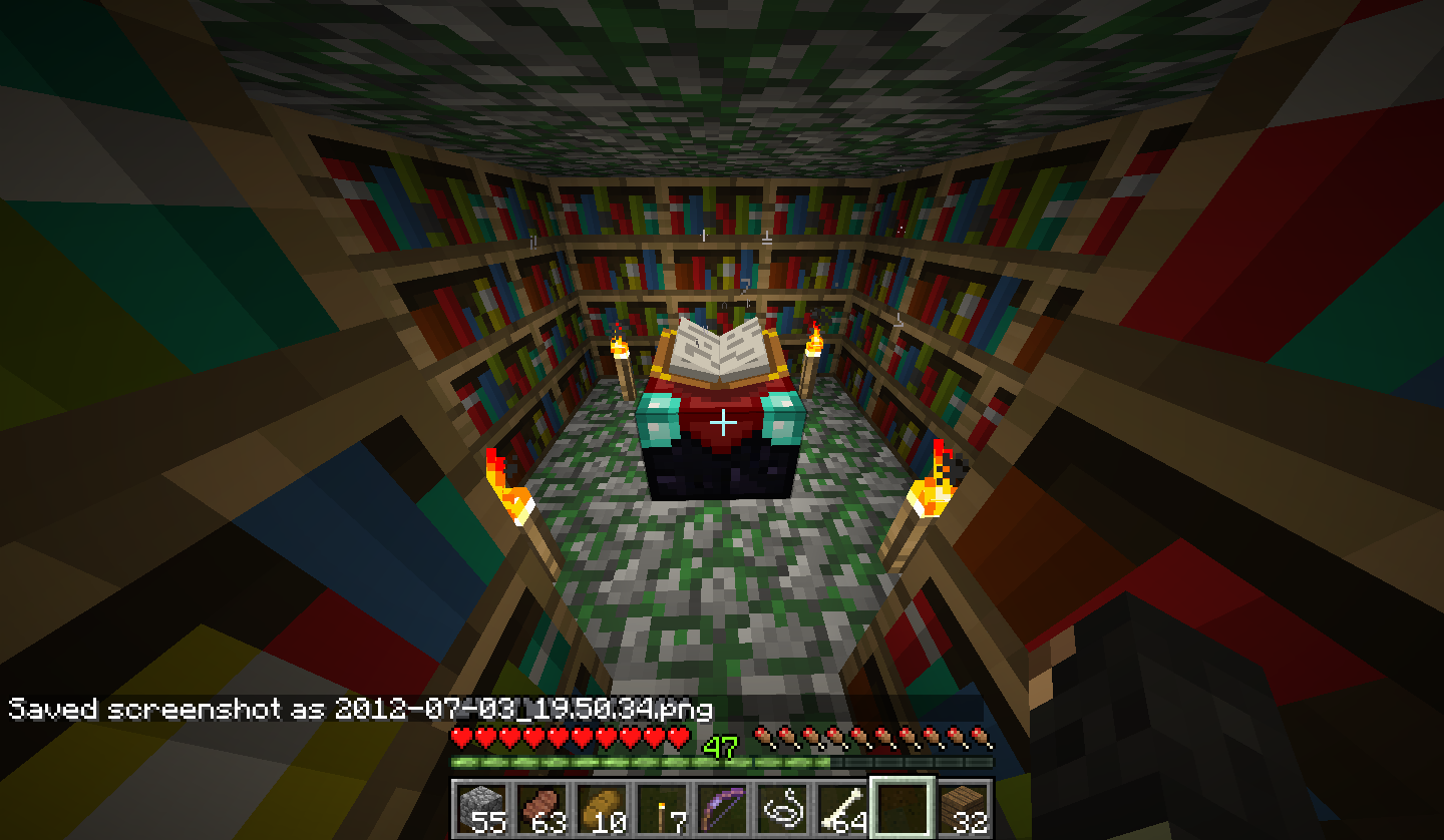 Bookshelves Have No Effect On Enchantment Table Legacy Support - Enchantment table bookshelves